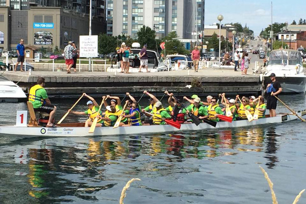Barrie Dragon Boat Festival Races